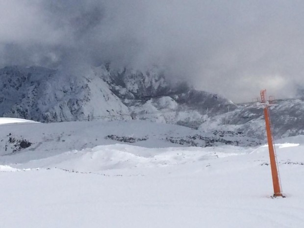 Nevados de Chillan, Chile on June 9th, 2015.