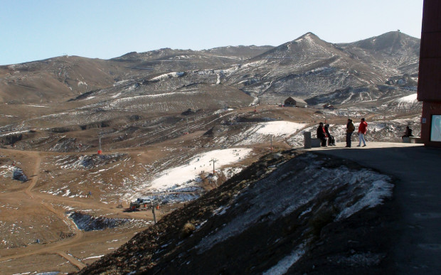 Valle Nevado ski resort in Chile, June 2015. photo: javiera quiroga/bloomberg