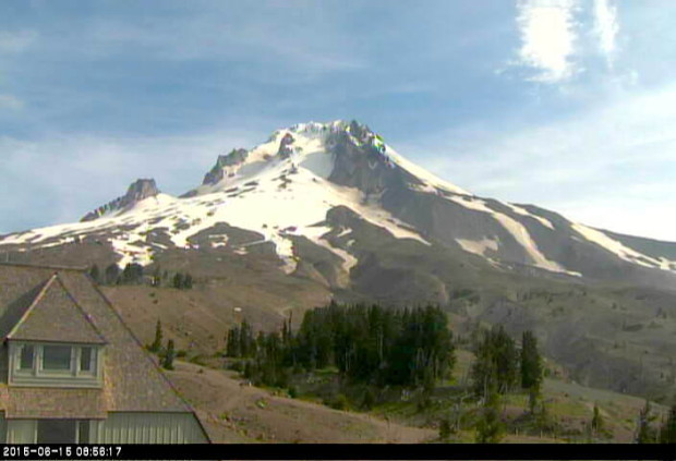 Mt. Hood & Timberline Lodge, OR today.