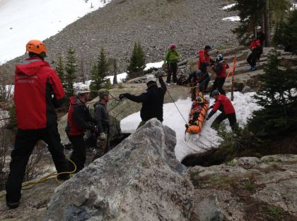 Photo from the rescue. photo: Summit County Search and Rescue
