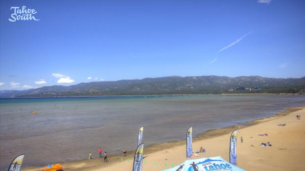 El Dorado Beach today at Lake Tahoe, CA.