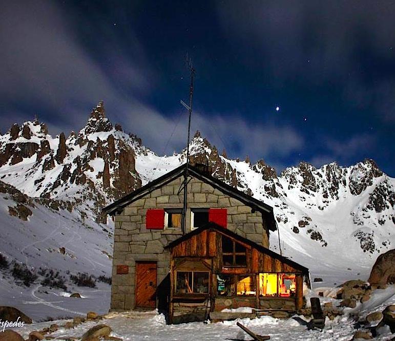 Refugio Frey, Bariloche, Argentina.