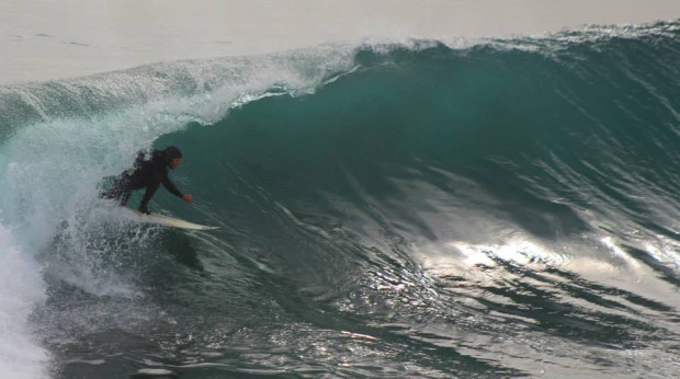 Canada nick getting shacked at Lobos on July 10th.  photo:  tu sesion
