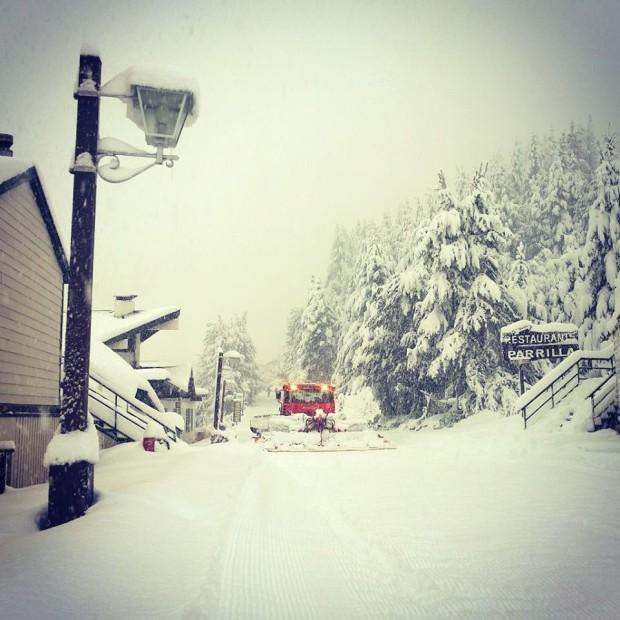 Catedral ski resort in Bariloche, Argentina today.  photo:  catedral