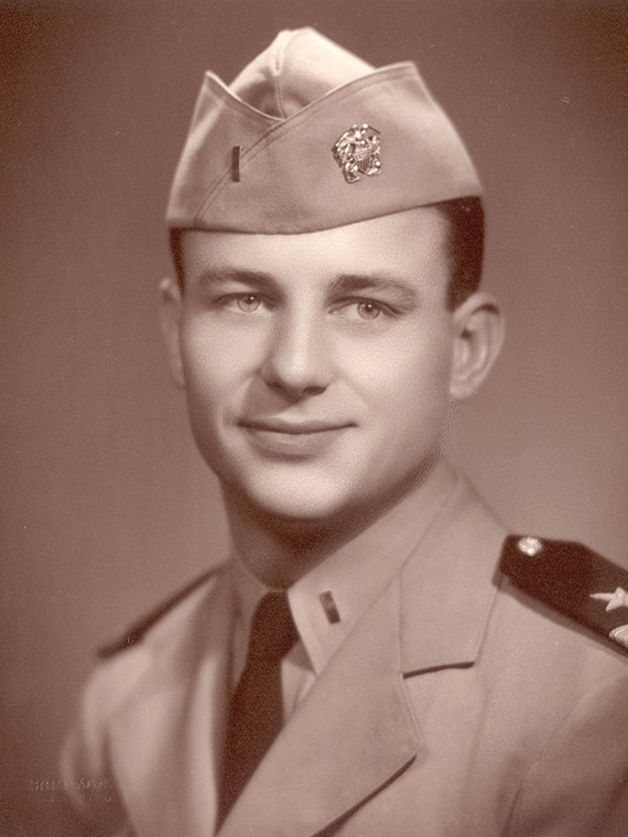 Dick Bass in the US Navy.