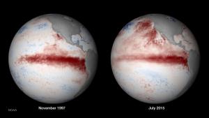 1997 El Nino VS 2015 El Nino