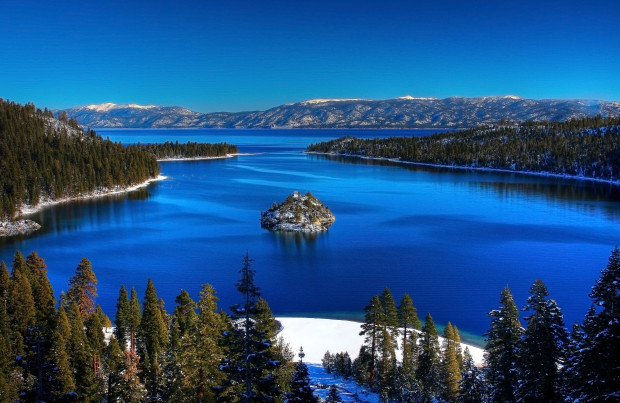 Lake Tahoe's Emerald Bay.