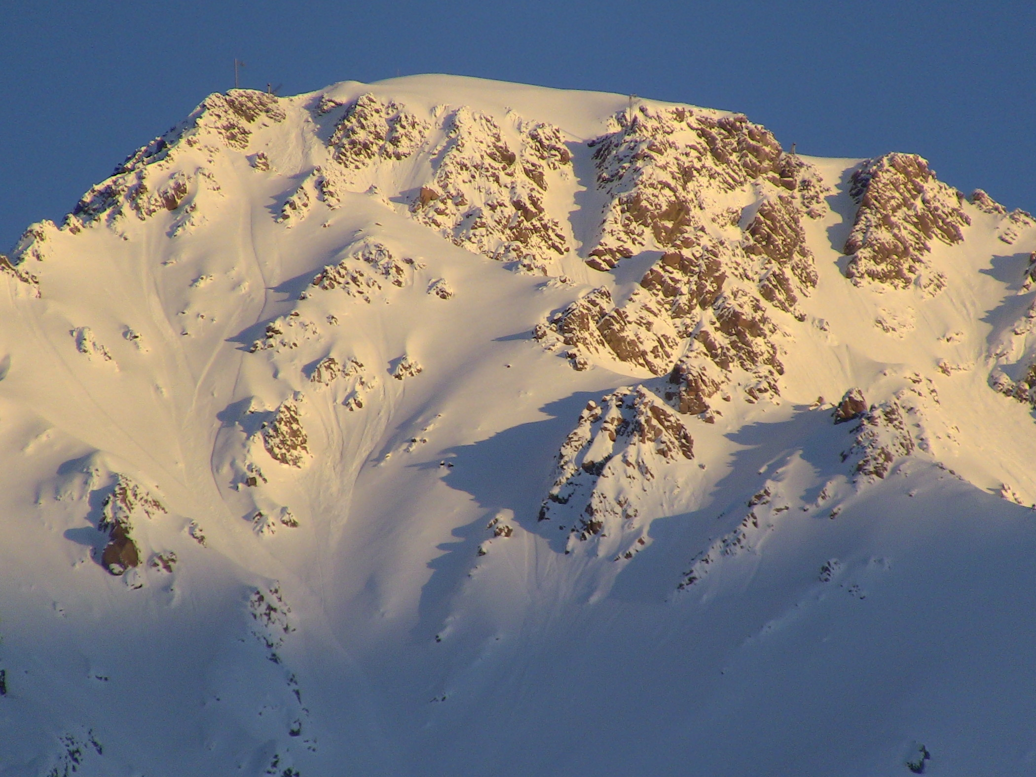 Las Lenas's Marte chair accessed terrain in 2011. photo: snowbrains