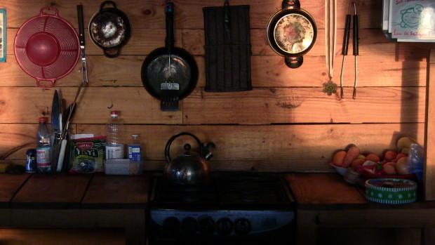 Cozy cabin living at Lobos.