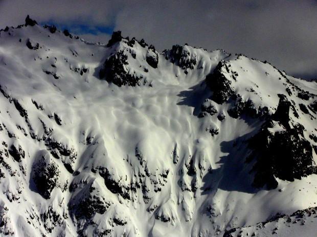 Little AK sidecountry at Catedral ski resort, Barilioche, Argentina.  photo:  miles clark