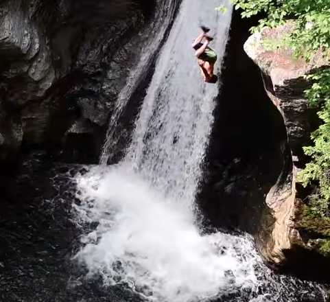 cliff jumping video Archives - SnowBrains