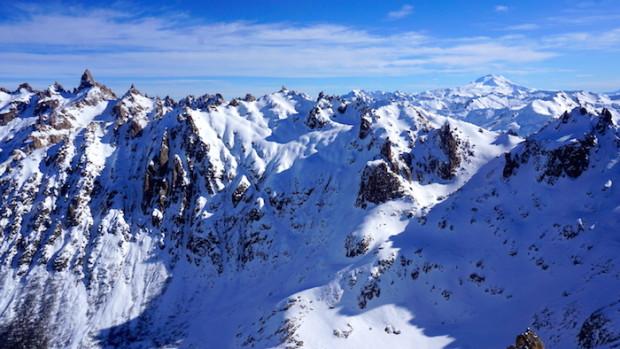 The Bariloche backcountry yesterday.