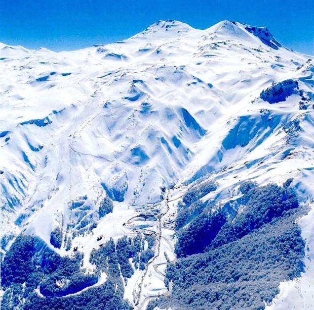 Nevados de Chillan ski resort, Chile.
