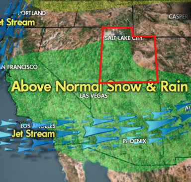 Meteorlogist Chris Tomers predictions for the coming Strong El Nino for the West Coast and Utah.