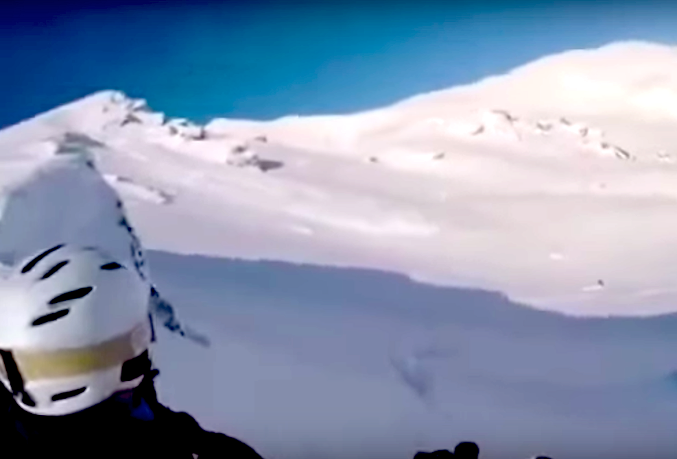 New zealand avalanche death video