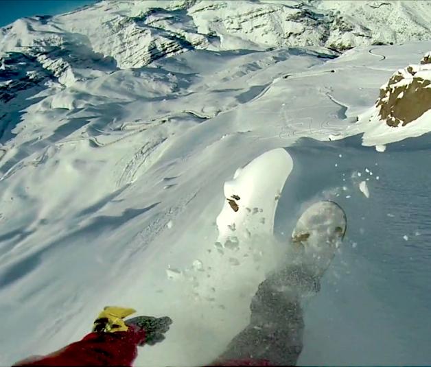 chile powder snowboard