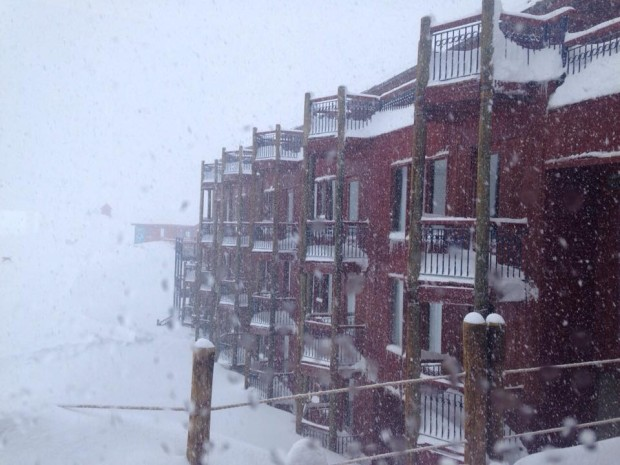 Valle Nevado, Chile today.
