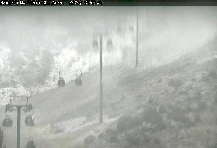 Mammoth Mountain mid-mountain webcam today at 2pm.