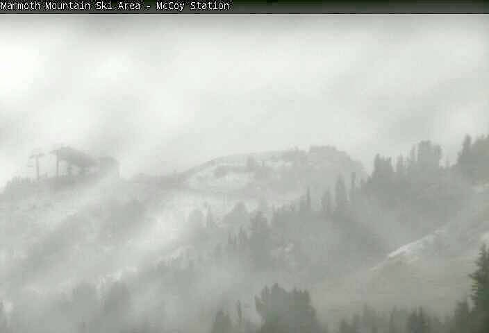 It S Snowing In California Right Now Snowbrains