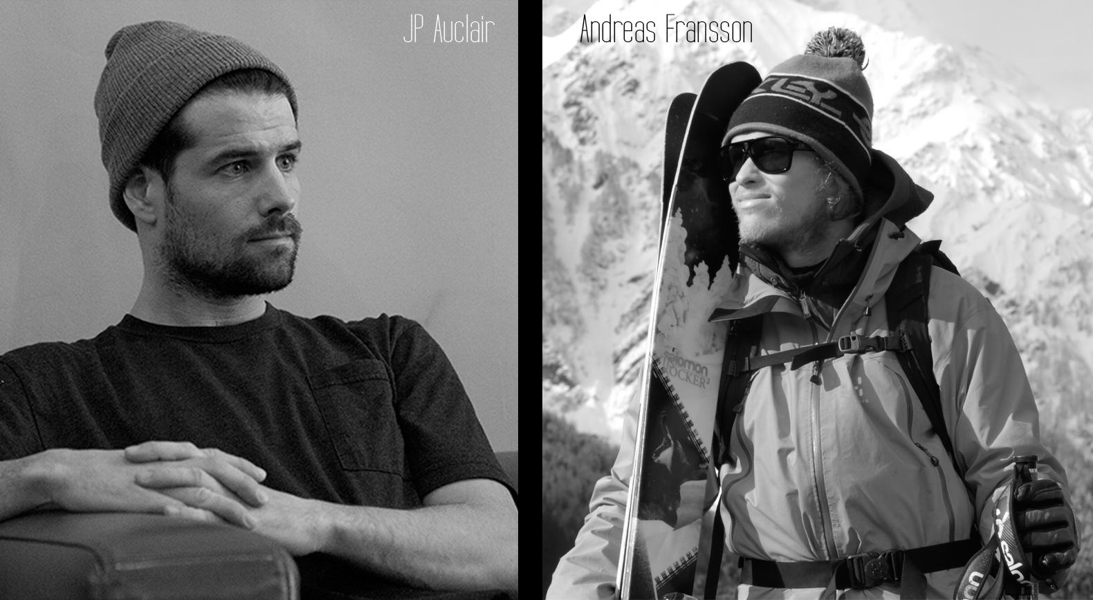 JP Auclair & Andreas Fransson. photo: freeskier.sk