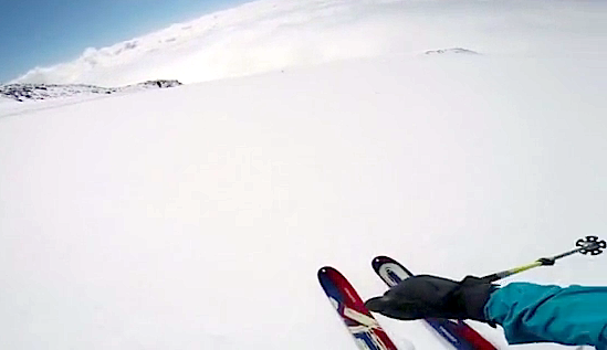 backcountry ski mt. rainier