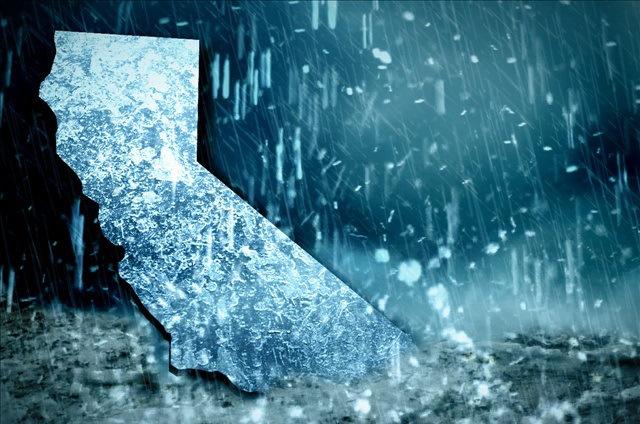 California may not be saved by El Nino this year...
