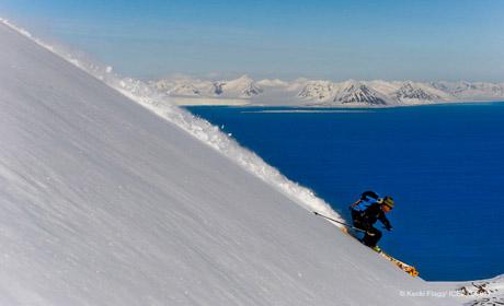 Bela ripping it in Norway photo: Steven Sig CAMERAMEN: Tom Day, Keoki Flagg, Peter Norquist TALENT: Doug Stoup, Grant Corigan, John Davis, Tao Fletcher