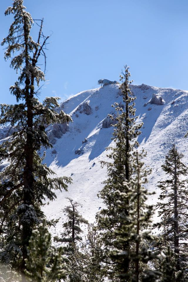 Yes mammoth california got snow last night photo tour for Chair 23 mammoth