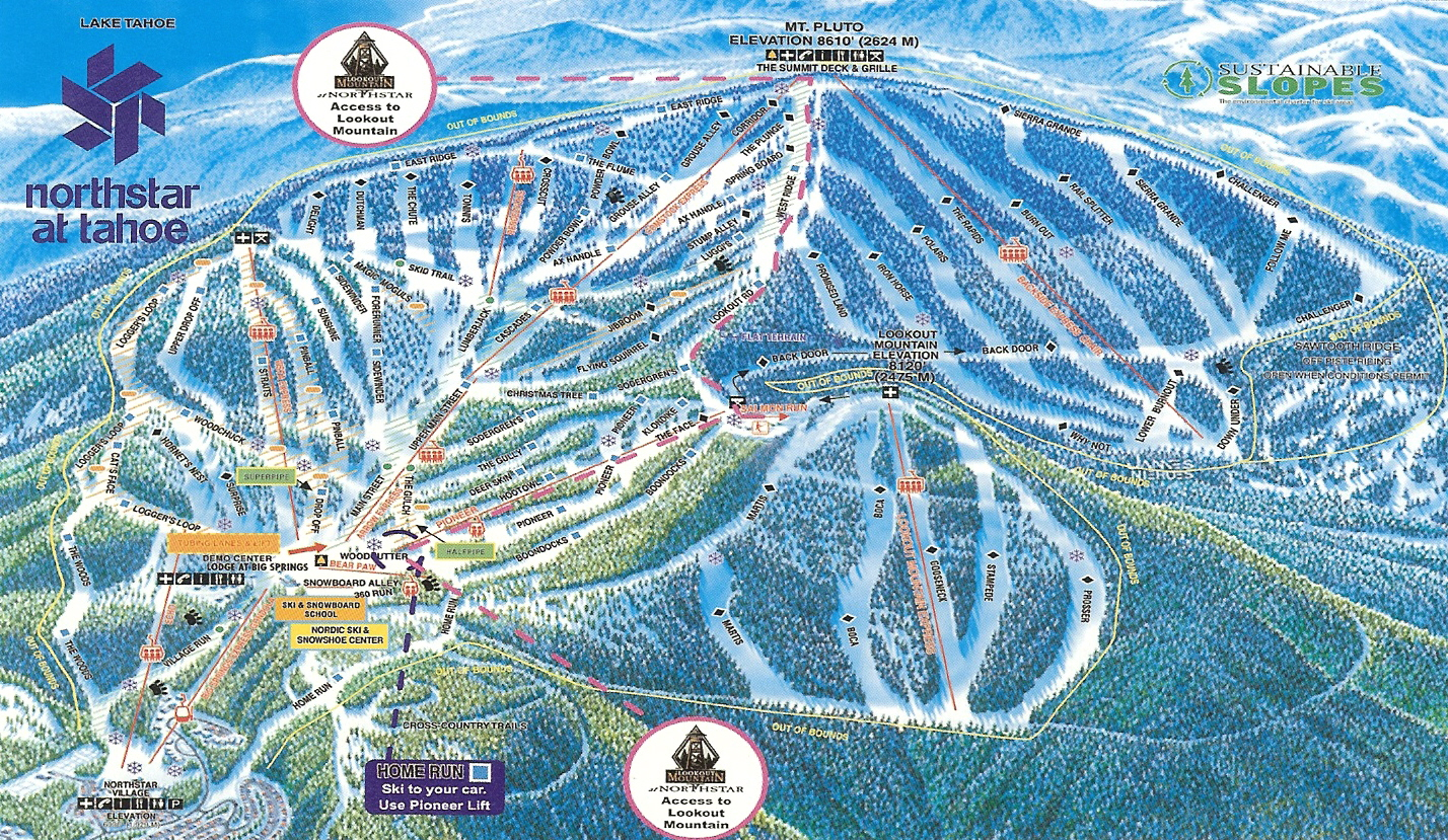 FOR SALE: Crested Butte CO, Northstar CA, Brighton UT