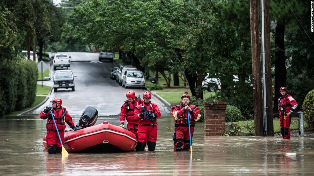 South Carolina flooding this month. photo: cnn