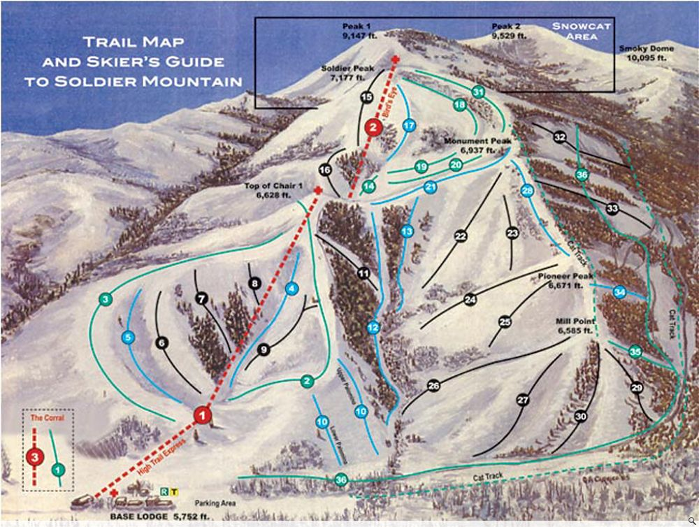 Soldier Mountain UPDATE: The Idaho Ski Resort For Sale for