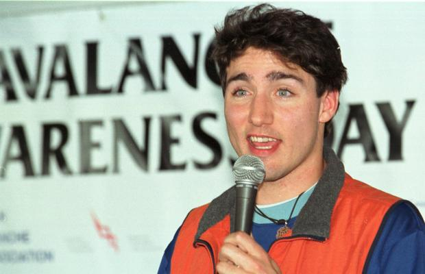 Justin Trudeau advocating with the Canadian Avalanche Association