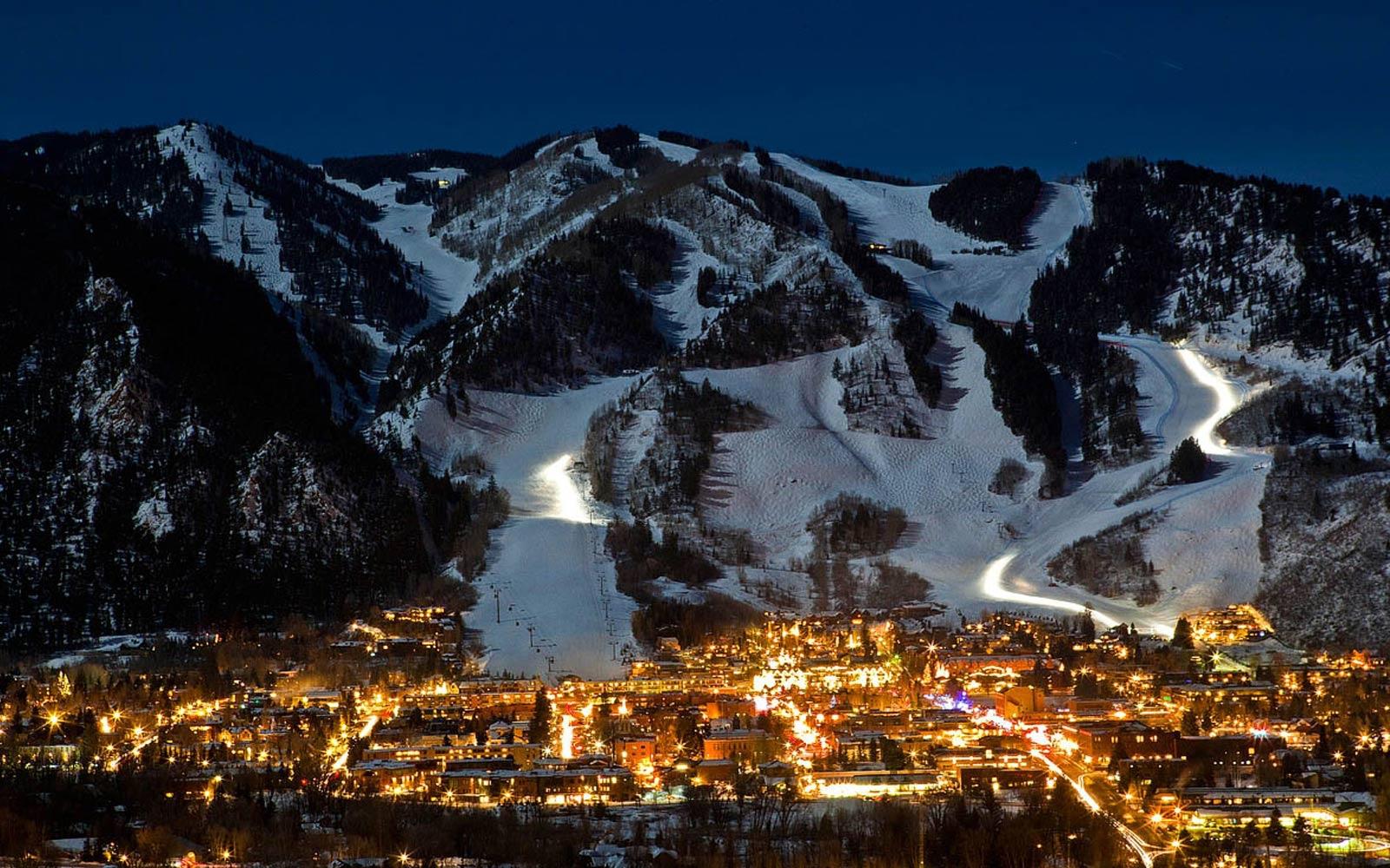 Aspen, California.