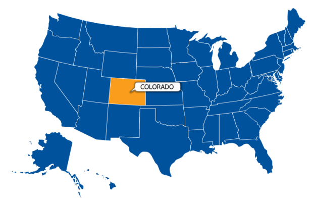 Colorado is right there.