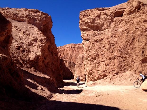 Biking in Valle de la Muerte