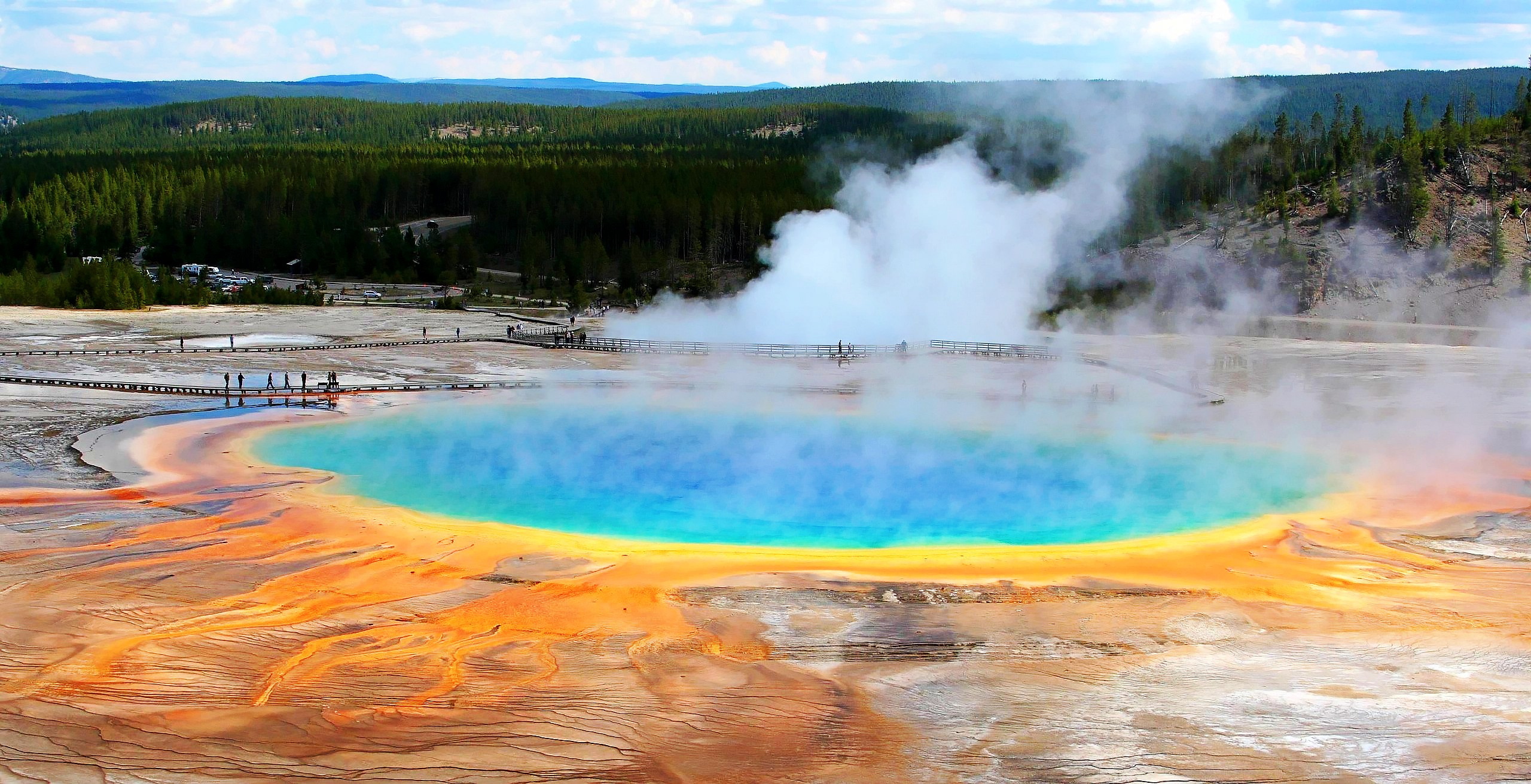 Yellowstone National Park Was Insanely Busy This Summer