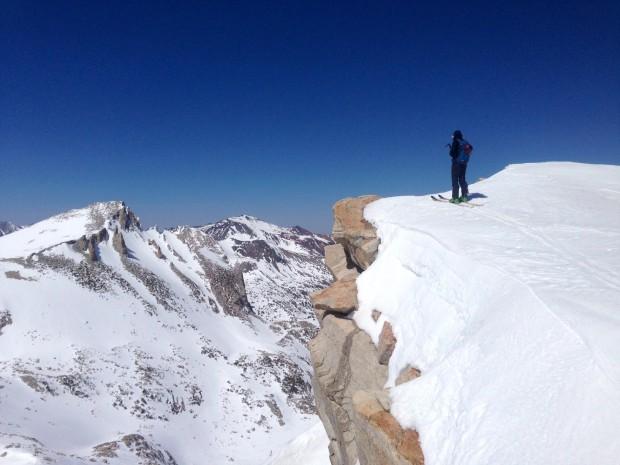 Backcountry skiing off Tioga Pass, CA. photo: greg burnett
