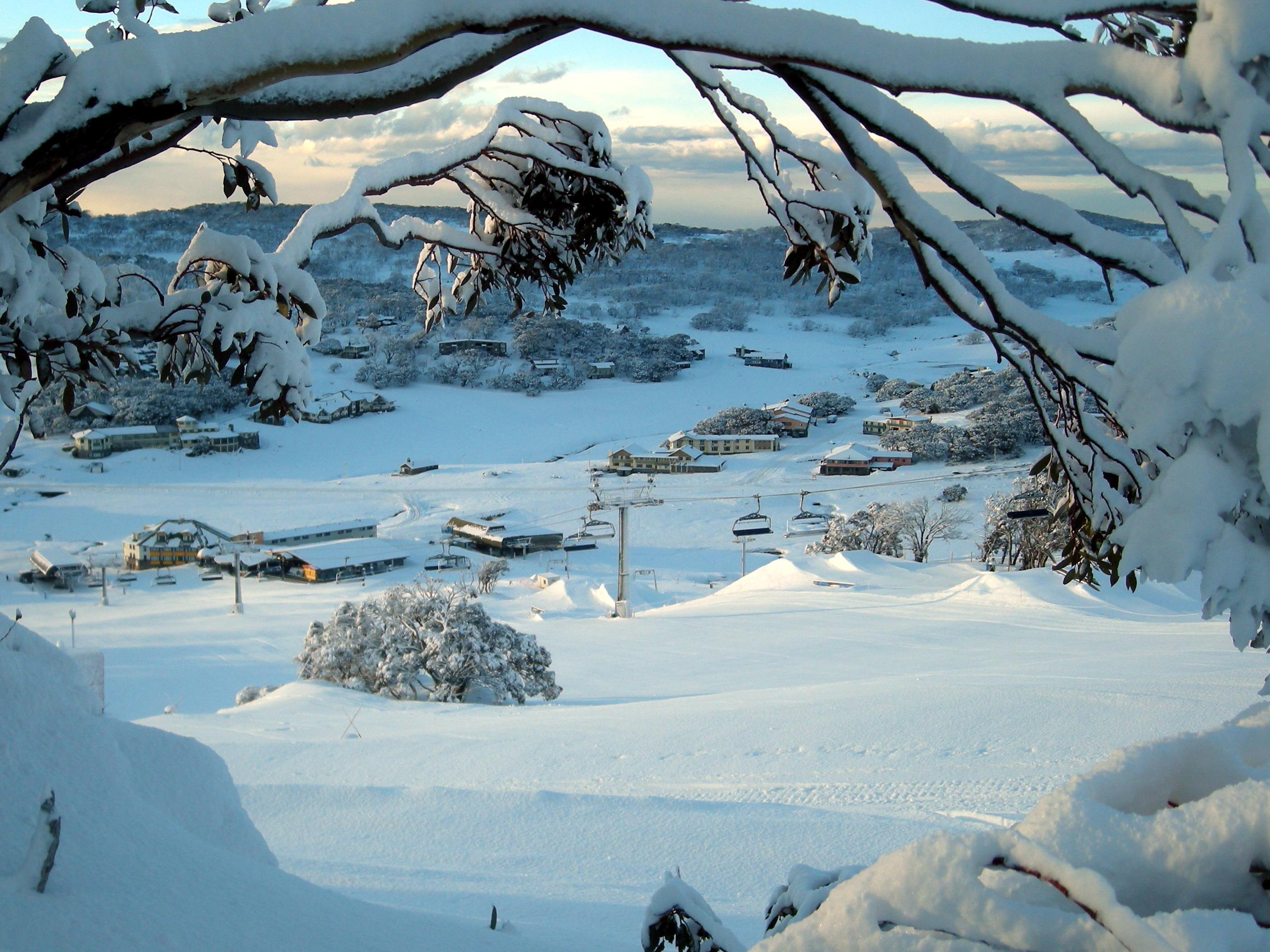 Perisher ski resort, Australia.  A Vail resort.