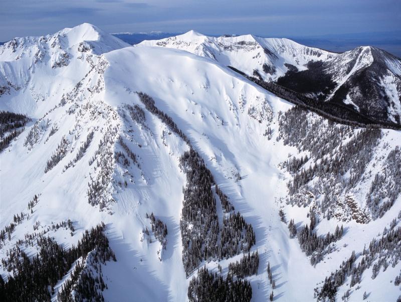 12,450' Kachina Peak at Taos, New Mexico.