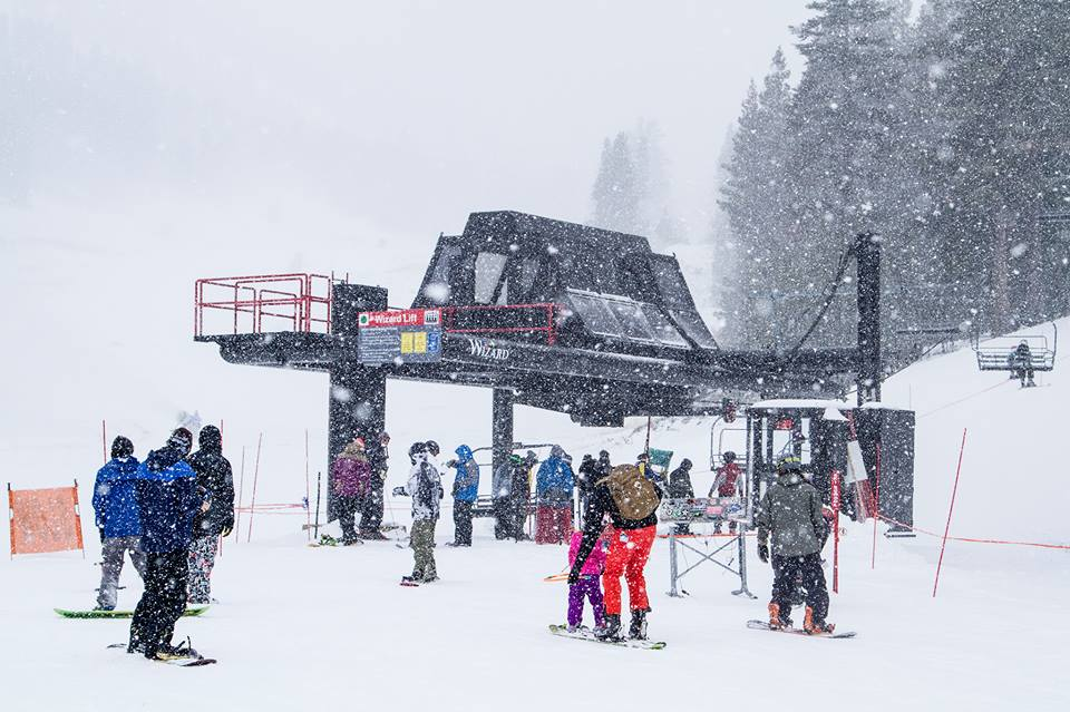 """Mt. Rose in Lake Tahoe, NV in a snow storm that dropped 9-12"""" on November 9th. photo: mt. rose"""