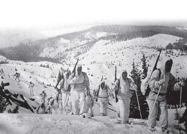 10th Mountain Division training in California.