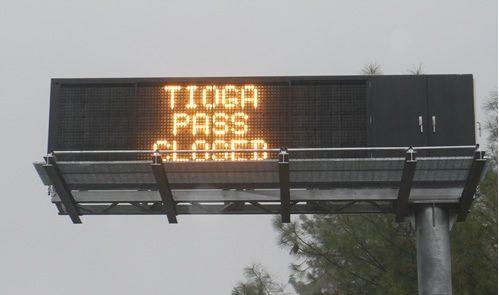Tioga Road, Tioga Pass,