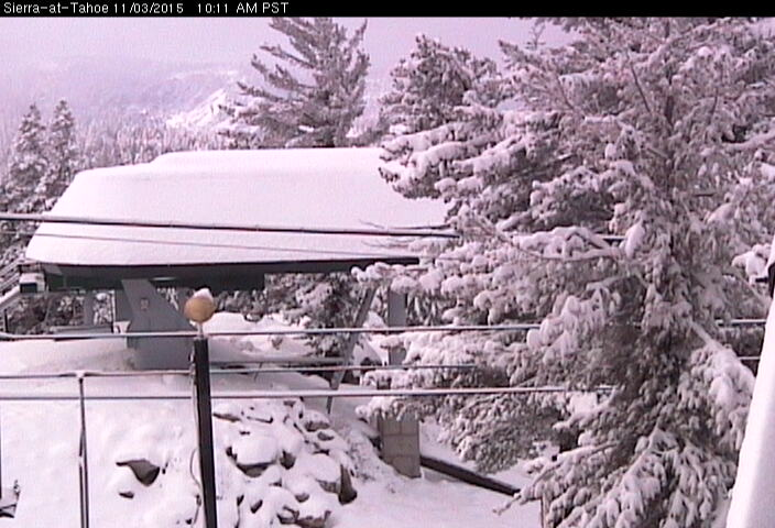 Sierra-at-Tahoe today at 9am.