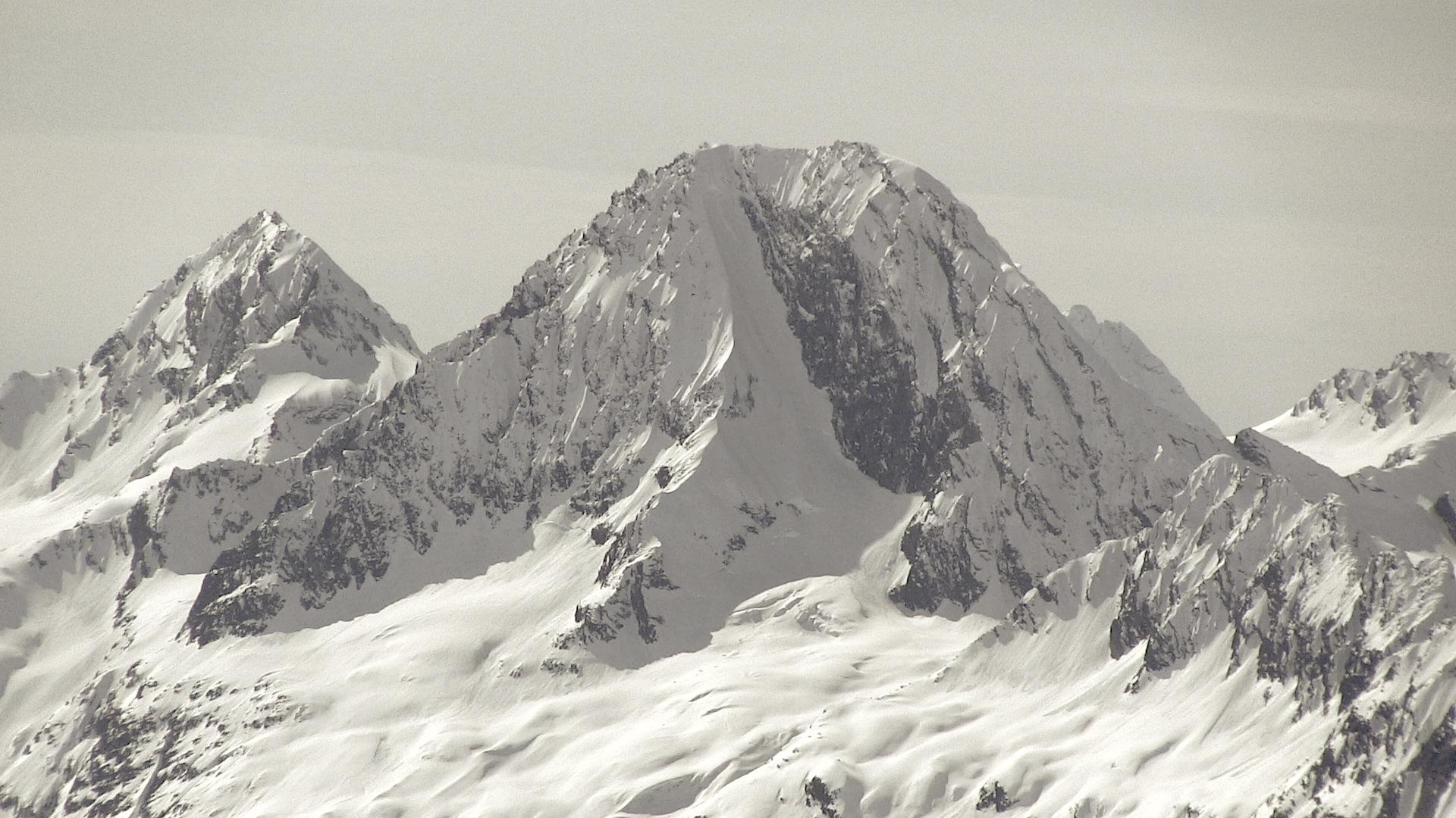 Meteorite Mountain, AK in April 2012. photo: miles clark/snowbrains