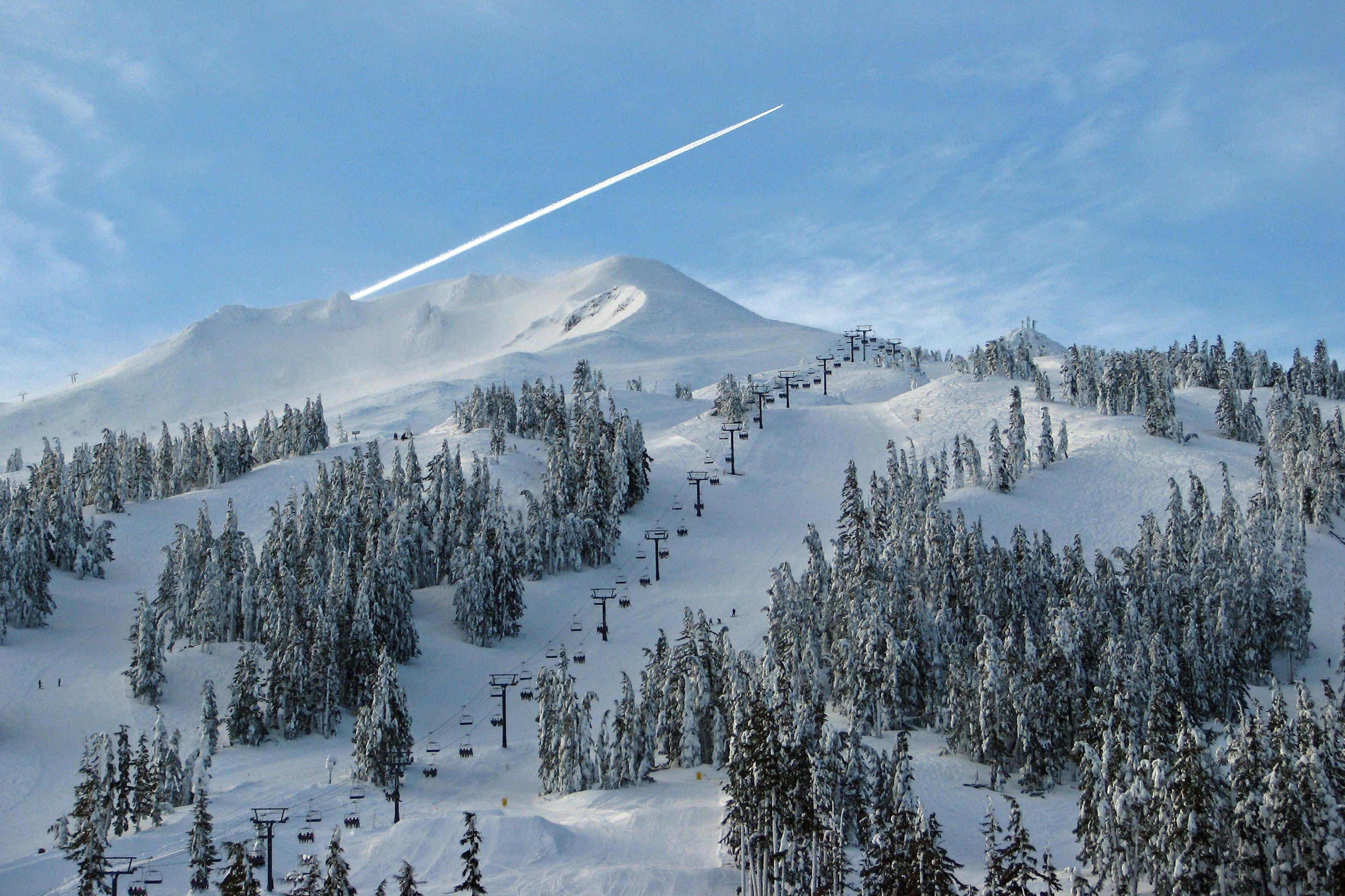 Mt. Bachelor, OR powder day.