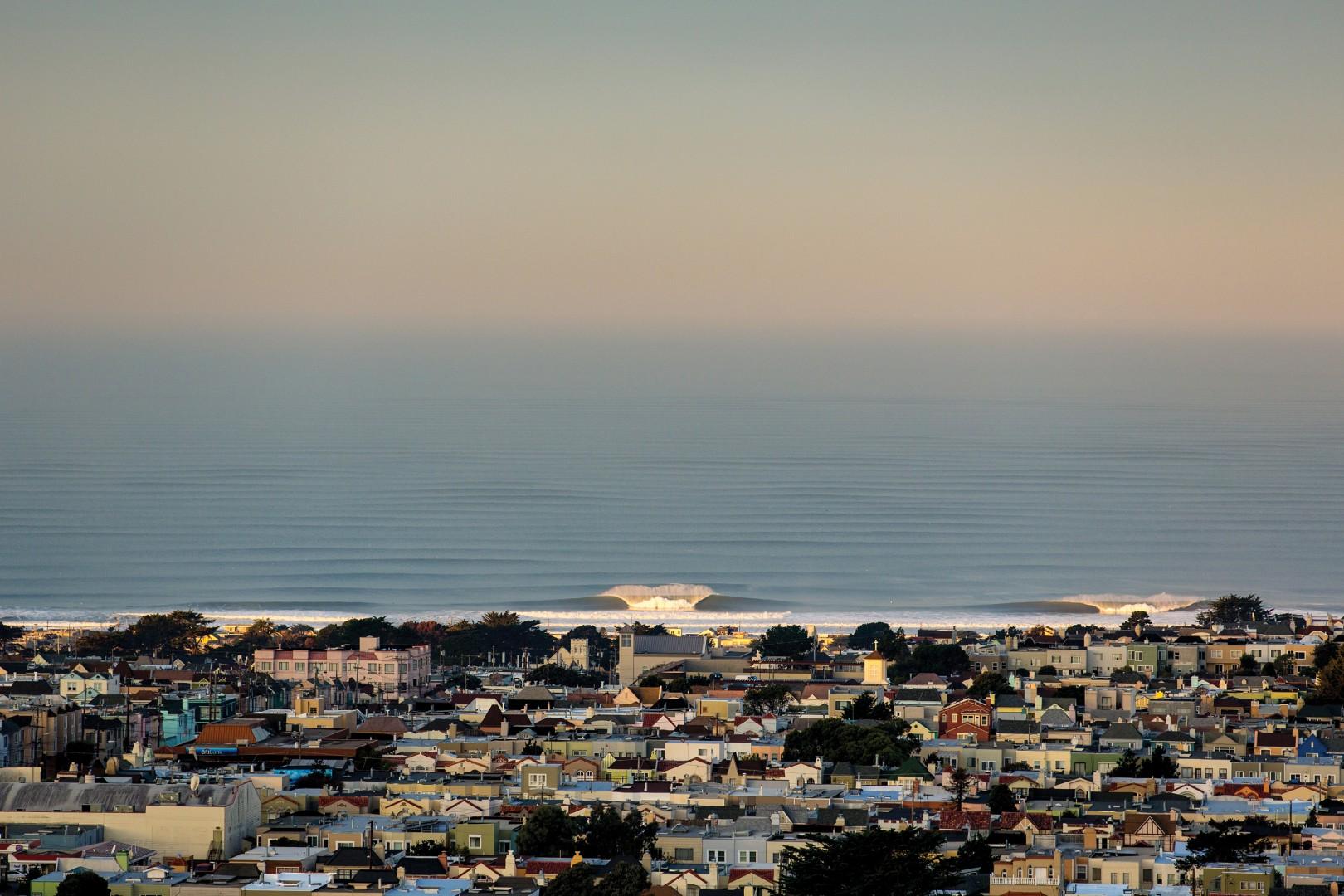 Ocean Beach San Francisco Ca November 29th 2017 Photo Jimmicane