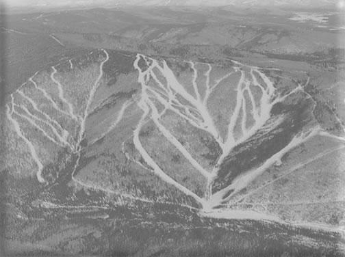 Moose Mountain, AK. stock image.