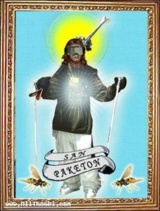 Saint of the snow