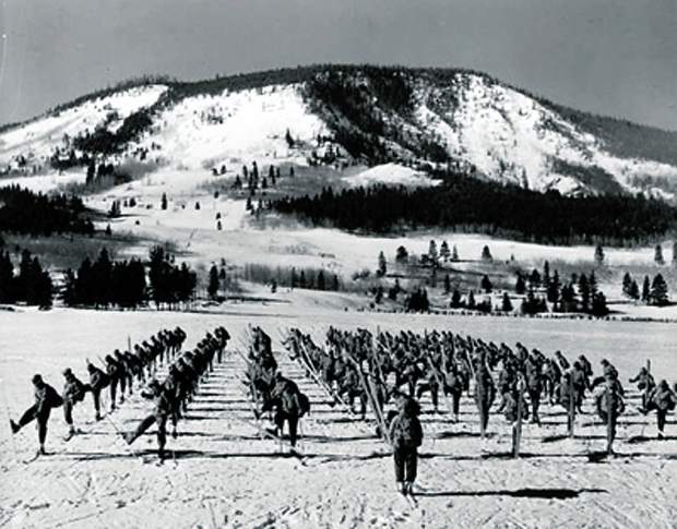 10th Mountain Division training at Camp Hale, CO