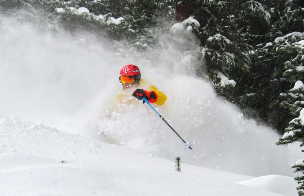 Loveland, CO today. photo: Casey Day/Powder Factory Skis